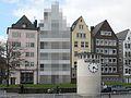 Verpixeltes Haus in Köln