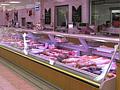 Fleisch- und Wursttheke bei Rewe