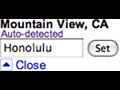 Suche: Google erlaubt Ortswechsel
