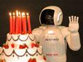 Herzlichen Glückwunsch: Roboter Asimo wird zehn