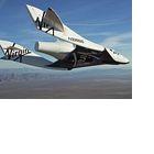 Virgin Galactic: Spaceship Two absolviert ersten bemannten Gleitflug