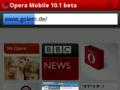 Opera Mobile 10.1: Betaversion für Android ist da