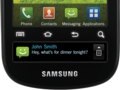 Samsung Continuum: Android-Smartphone mit Newsticker-Display