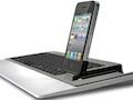 Omnio Wowkeys: Tastatur mit iPhone-Steckplatz