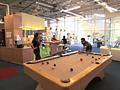 Freizeitraum im Googleplex
