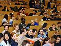 Studenten im Hörsaal (Foto: TU Dortmund)