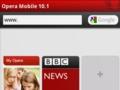 Opera Mobile 10.1 für Symbian