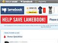 Lamebook: Facebook schmeißt Konkurrenten raus