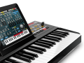 Musik: Keyboard mit iPad-Dockingstation