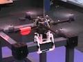 Quadrocopter auf dem Bau
