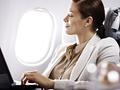 Mit dem Notebook online an Bord (Bild: Lufthansa)