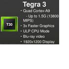 Nvidia: Tegra 3 als mobiler Quad-Core für Tablets