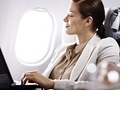 Ruhebedürftig: Deutsche gegen Handynutzung und Internet im Flugzeug