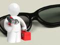 3D-Brillen: Drehen, bis der Bildschirm schwarz wird