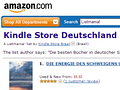 Kindle Store Deutschland (Bild: Amazon)
