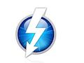 Thunderbolt-Logo, das Apple benutzt