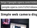 Device und Orientation: Opera Mobile wird zum filmenden Kompass