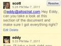 Kommentare: Ein bisschen Wave für Google Docs