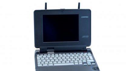 Compaq Aero 4/33C im Test: Kleines Kraftpaket mit 33 MHz