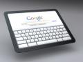 Tablet-Konzept mit Chrome OS