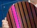 22-Nanometer-Wafer von Intel mit Testchips