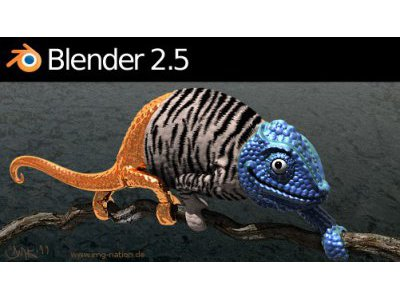 3D-Software: Erste stabile Version von Blender 2.5 veröffentlicht