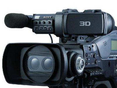 Sony: 3D-Camcorder speichert auf vier SxS-Karten