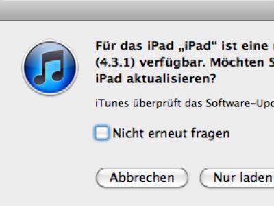 Apple: iOS 4.3.2 beseitigt Sicherheitsprobleme und kleine Fehler