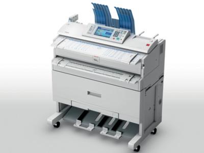 Ricoh: Multifunktionslaserdrucker für A0-Papier