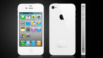 iPhone in weiß