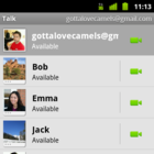 Android: Video- und Internettelefonie mit Google Talk