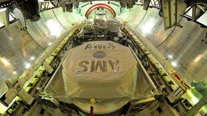 Spaceshuttle Mission 134: Antimateriedetektor startet ins All