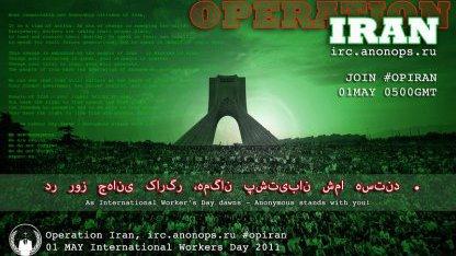 Operation Iran: Anonymous kündigt DDoS-Attacken auf den Iran an
