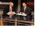 Internet im Auto: Microsoft und Toyota bringen Autos in die Cloud