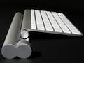 Mobee: Induktionsladegerät für Apples Magic Trackpad und Tastatur