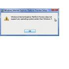 Browser: Internet Explorer 10 läuft nicht unter Windows Vista