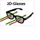 Kino ohne Kopfschmerz: 2D-Brille macht 3D-Filme platt