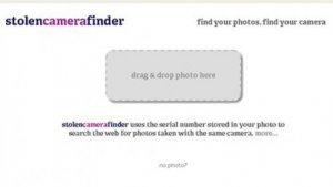 Stolen Camera Finder: Gestohlene Digitalkameras online wiederfinden