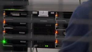 Server in einem Google-Rechenzentrum
