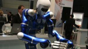 Sportlich: Roboter Justin fängt Bälle