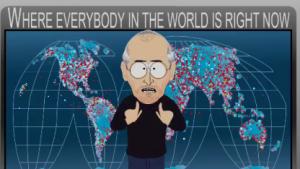 Bewegungsprofil: South Park attackiert Apple