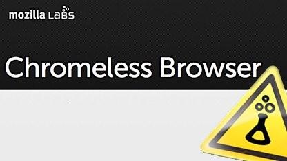 Chromeless 0.2: Desktopanwendungen mit HTML, CSS und Javascript