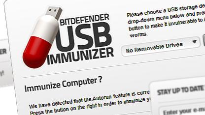 Bitdefender: Immunisierung von USB-Sticks gegen Autorun-Attacken