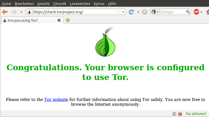 Anonymes Surfen: Tor-Browser statt Tor-Button