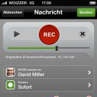 Sprachnachricht statt SMS: Woizzer ist offiziell gestartet