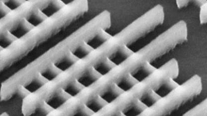 Wafer-Ausschnitt mit TriGate-Transistoren