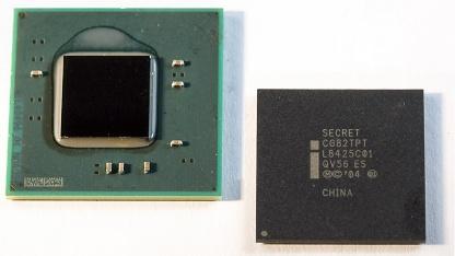 Dual-Core-Atom mit Chipsatz