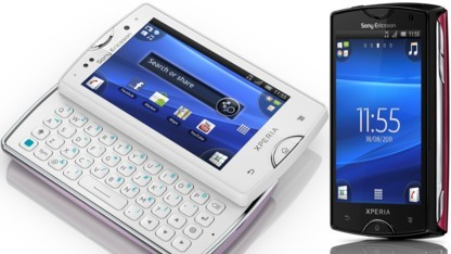 Xperia Mini Pro und Xperia Mini