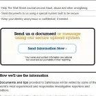 WSJ Safehouse: Onlinebriefkasten mit beschränkter Anonymität