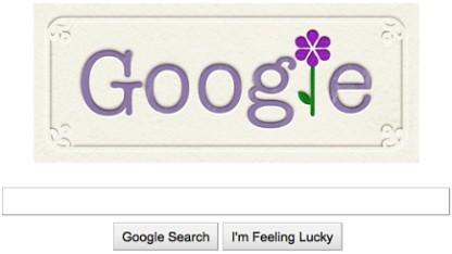 Googles Logo zum Muttertag